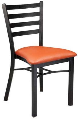 Dante Upholstered Metal Chair