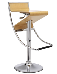 Hour-Glass Modern Barstool