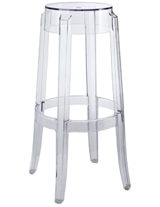 Play Clear Modern Barstool