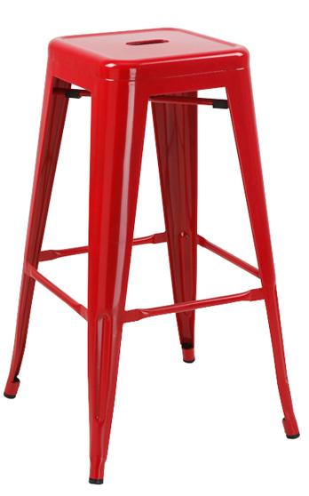 Vienna Modern Red Barstool
