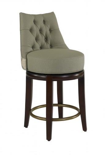 Clarity Designer Counter-Height Barstool