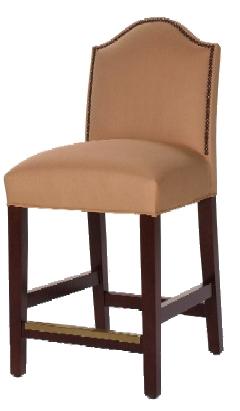 Moderno Designer Counter-Height Barstool