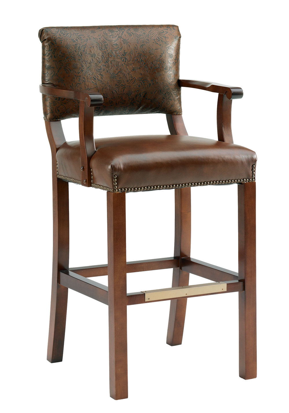 Tamiami Designer Barstool with Arms
