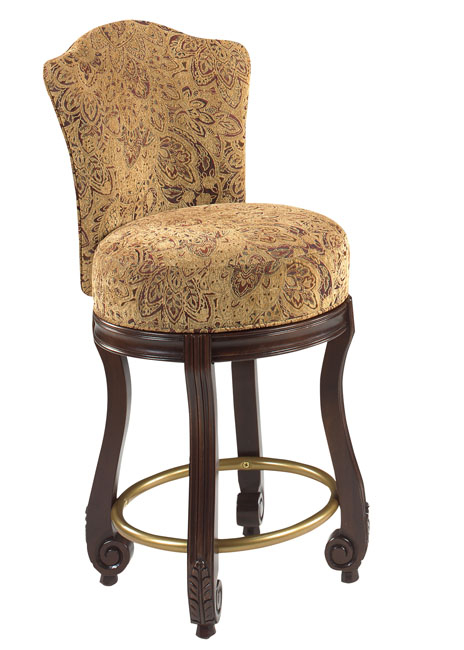 Palazzo Counter-Height Swivel Stool