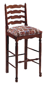 Balboa Traditional Ladder-back Barstool