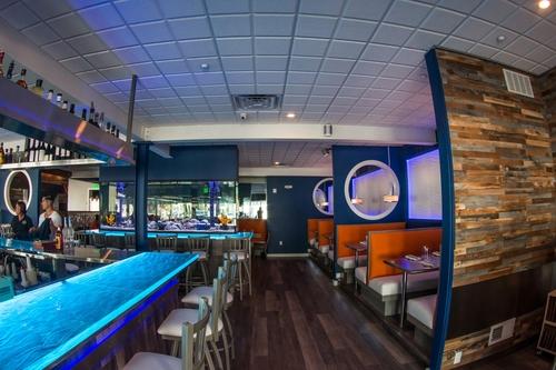 Fins bar area