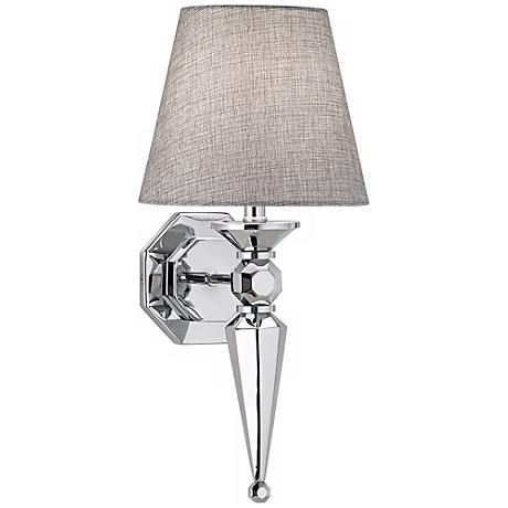 7 GRAY SHADE SCONCE $79.95