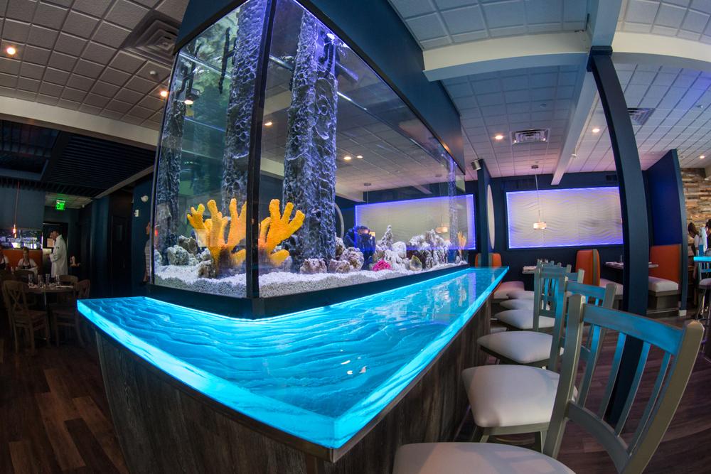 Restaurant Designer Aquarium