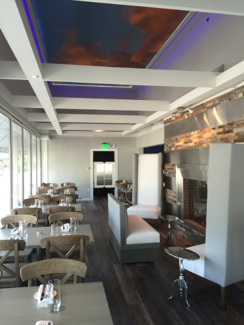 Restaurant Designer, Ceiling Treatment