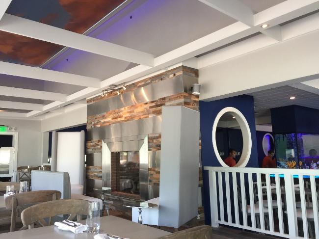 Restaurant Designer Fireplace