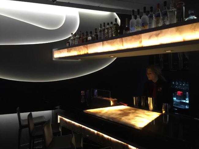 Restaurant Designer Liquor Soffit