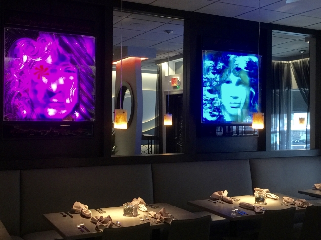 Restaurant Designer LED Art