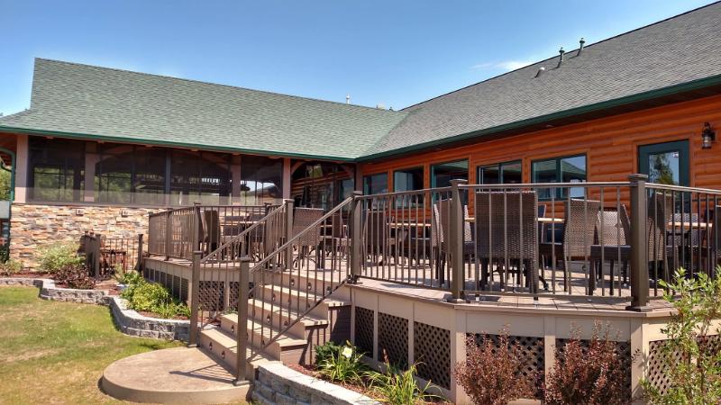 """""""After"""" Restaurant Designer make-overPavilion Structure and New Deck"""