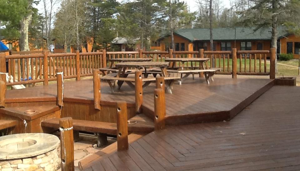"Timber Breeze Outdoor Deck ""Before"""