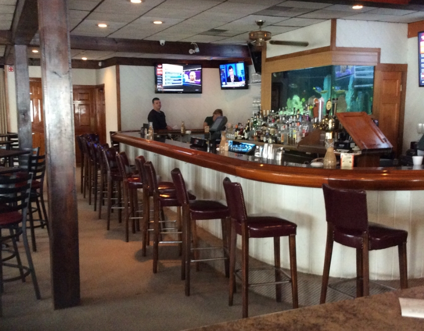 """Before"" the Fins concept bar was conceived and designed, the old Pilot House Bar was a throw-back"