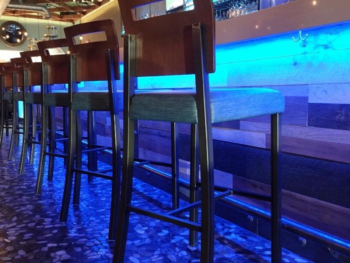 Restaurant Designer Padded Barstools