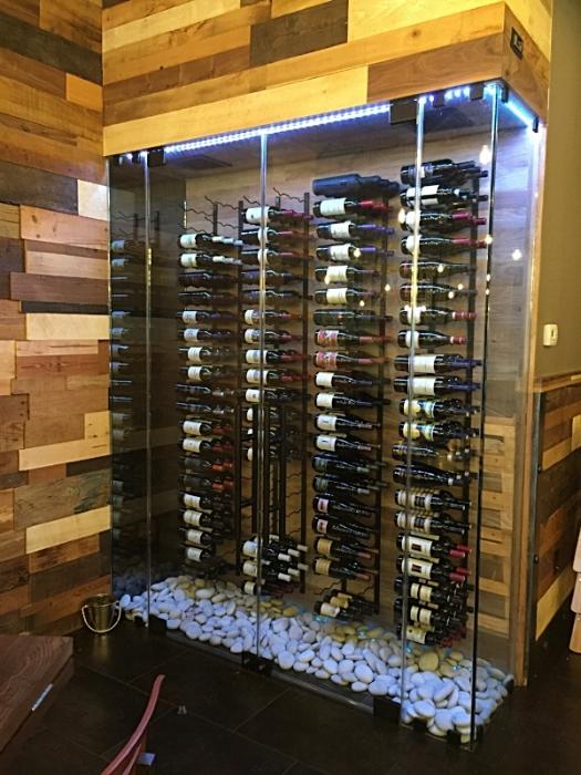 Wine Case Restaurant Design