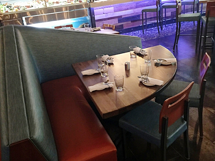 Pie Shaped Restaurant Table