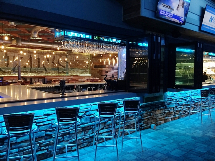 Cuzins Outdoor Bar by Raymond Haldeman