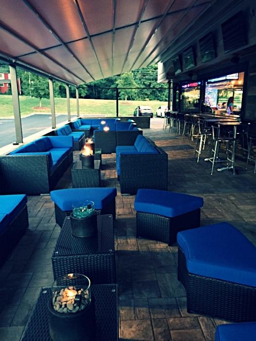 Restaurant Outdoor Pergola