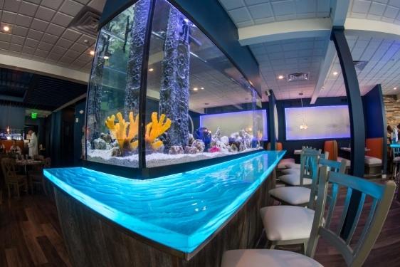 Restaurant Aquarium Design