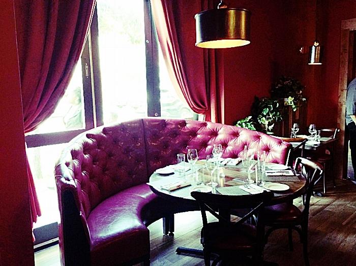 Custom Restaurant Banquette