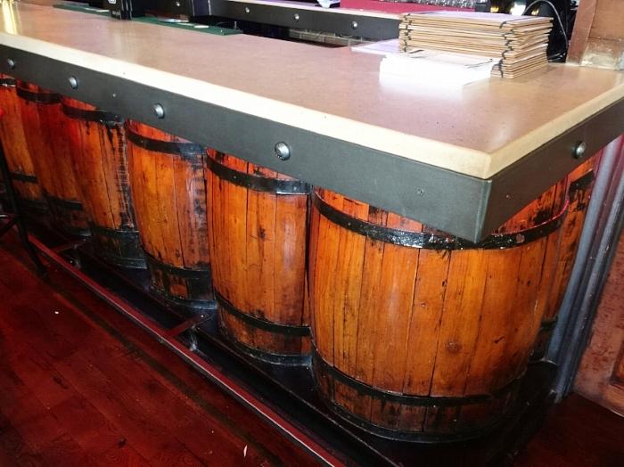 Wine Barrel Bar Design