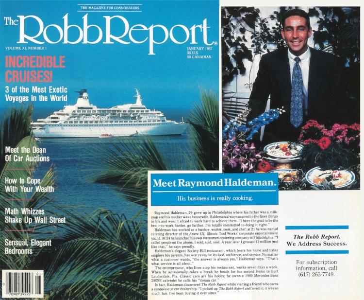 Raymond Haldeman Robb Report