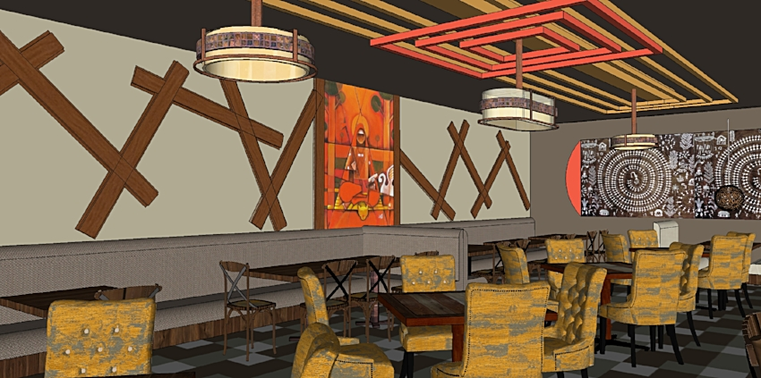 Indian Restaurant Design