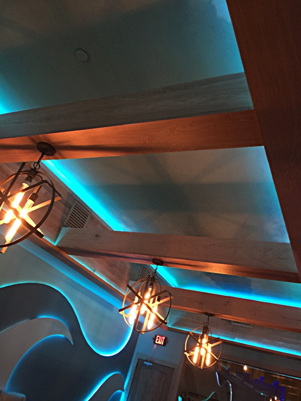 Couffered Ceiling in Cuzins VIP Room