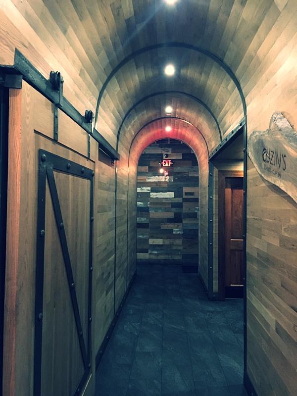 Designer Raymond Haldeman's Oak Hallway