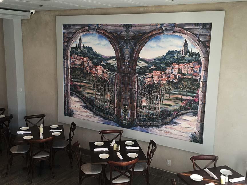Italian Restaurant Design Raymond Haldeman