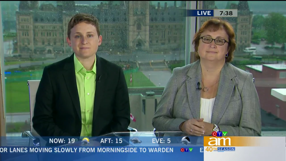 ESSN experts appear on Canada AM, CTV's national morning show