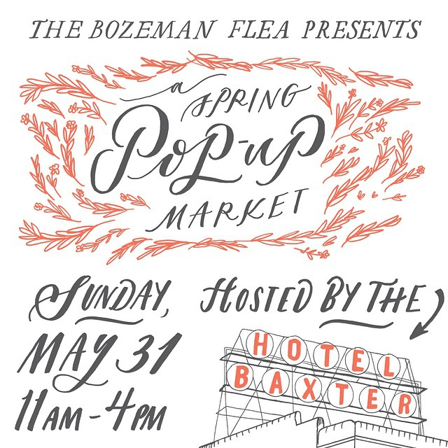 This Sunday is the @bozemanflea pop-up market in the @baxterhotel! This should not be missed- it's such an incredible collection of vendors selling all sorts of curated treasures.  Come say hi!  #bozemanflea #bozeman #montana #shopsmall #shoplocal