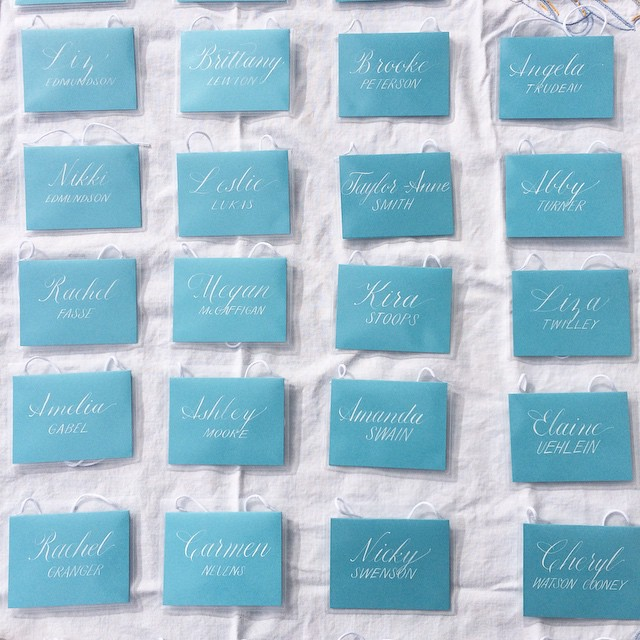 A huge thanks to @lcasellievents for putting on the spectacular #bossladybash yesterday!  So great to meet so many inspiring women.  Let's do it again, please :)  Name tag calligraphy by @ladylewton