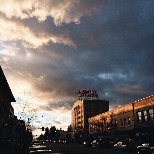 Incredible.  Gosh darn incredible.  #Bozeman #Montana #clouds #downtown #beauty #Baxter