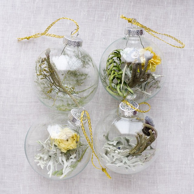 New blog post! We turned our wedding flowers into glass ornaments for our family. I can share these now that they've all been gifted :)     birdwalkpress.com/blog