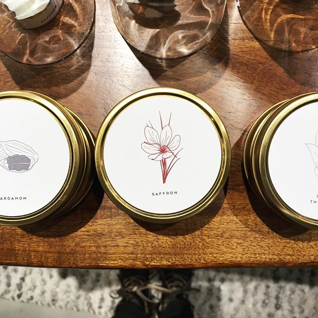 Testing out a new product category at West Elm Local this weekend- wood wick soy candles! Featuring some of my favorite scents like Saffron and Lily of the Valley.  Limited quantity for now, but I just might add it to the lineup. Whad'ya think?!