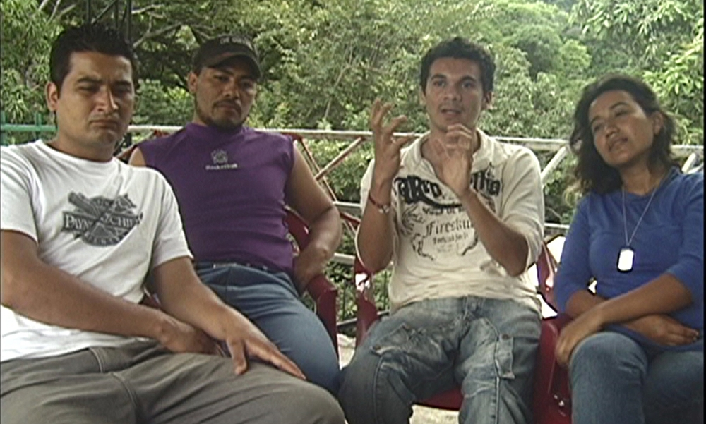The Think Tank in El Salvador are members of a radical political radio station in rural El Salvador.