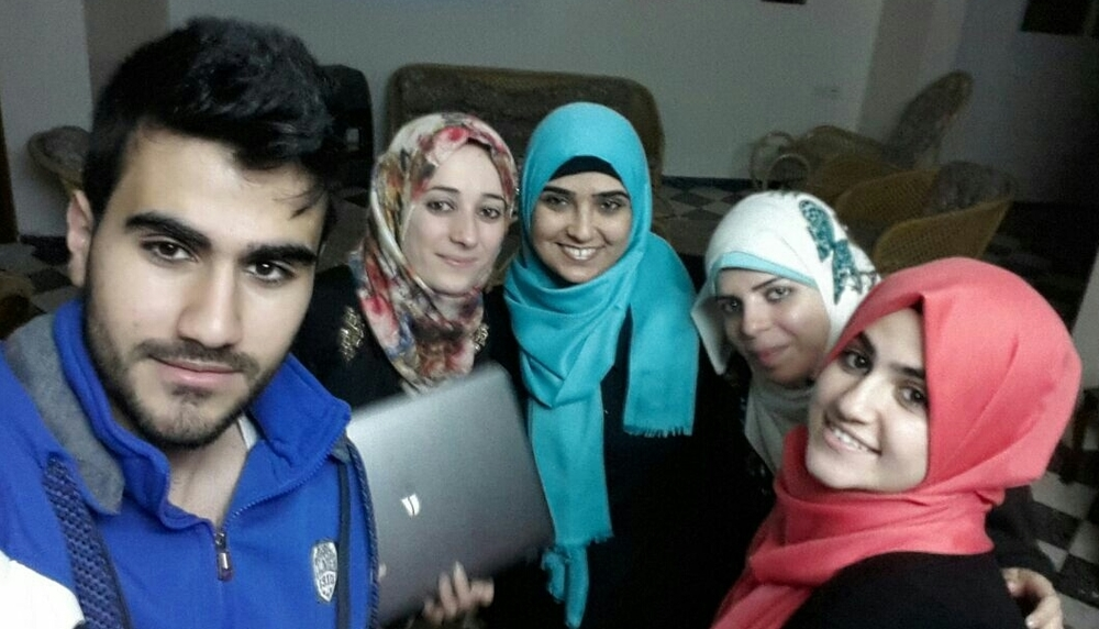 The Think Tank in Gaza is a group of university students and fresh graduates who work on social initiatives.