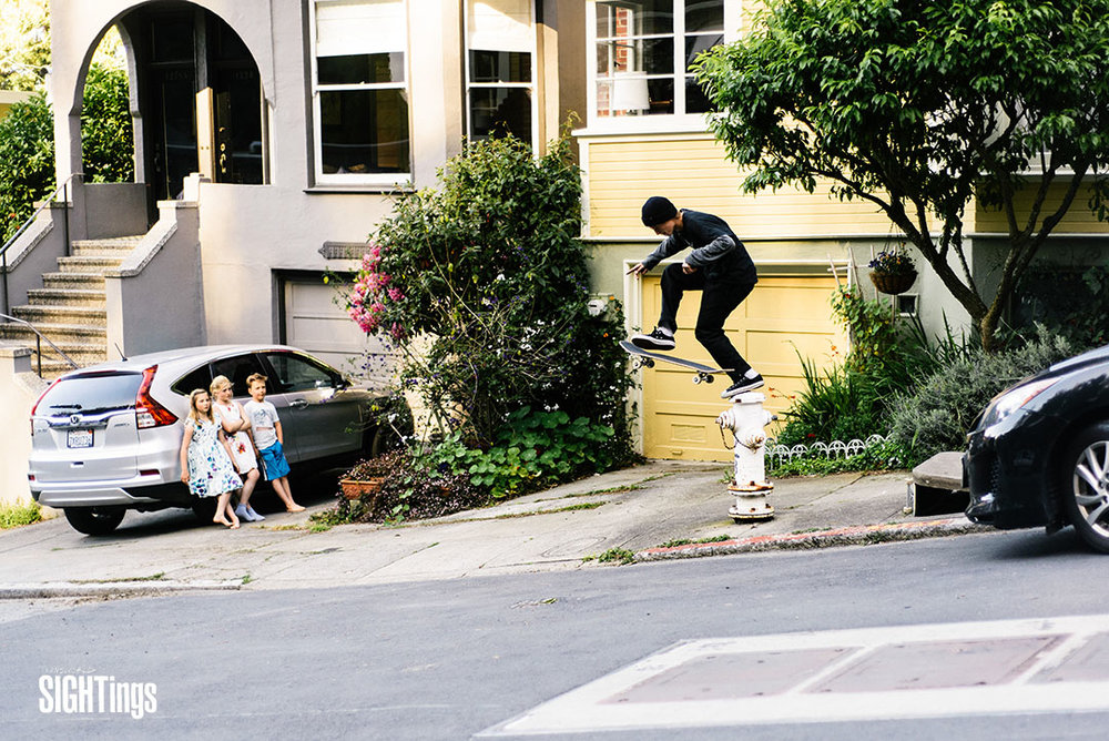 Elijah Akerly, footplant. San Francisco, CA. Photo: @jacob.photo