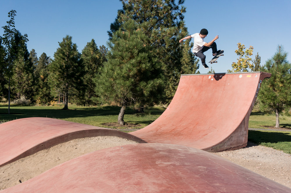 Ryan refusing to comply out in Bend. -