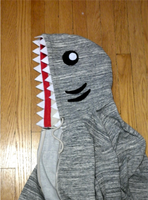 Remade Shark Hoodie