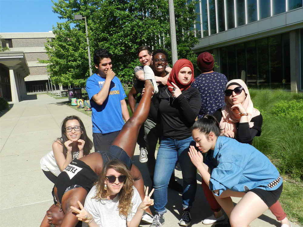 Top row (left to right): Jonathan Villaseñor, Alex Smith, Onyedikachi Ebiringah, Nour Ghalyoun, Giovanni Garcia, Samar Khrawish  Bottom row (left to right): Ana Ruiz, Britany Davis, Sarah Gabriella Hernandez, Tran Huynh