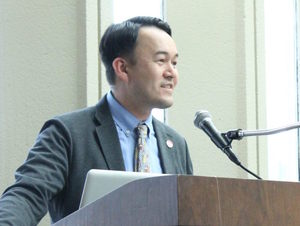 Mark Martell, PhD, Director of the Asian-American Resource and Cultural Center. Links to center's website.