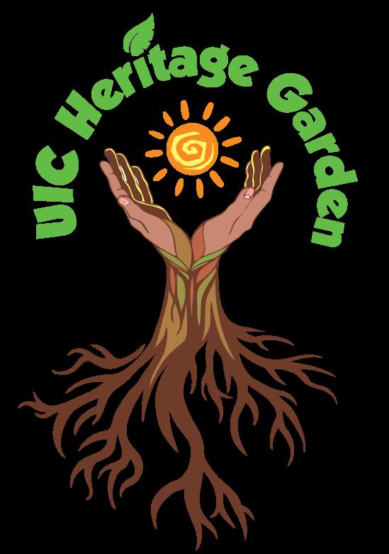 UIC Heritage Garden Logo