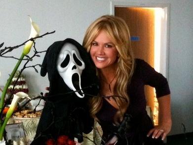 Nancy O'Dell in Scream 4 out April 15th! — Nancy O'Dell