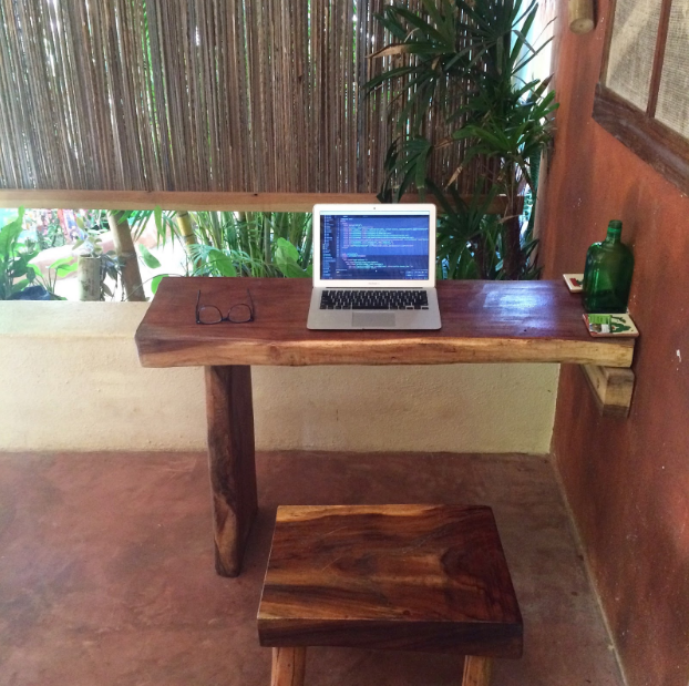 My little Mexico work station.