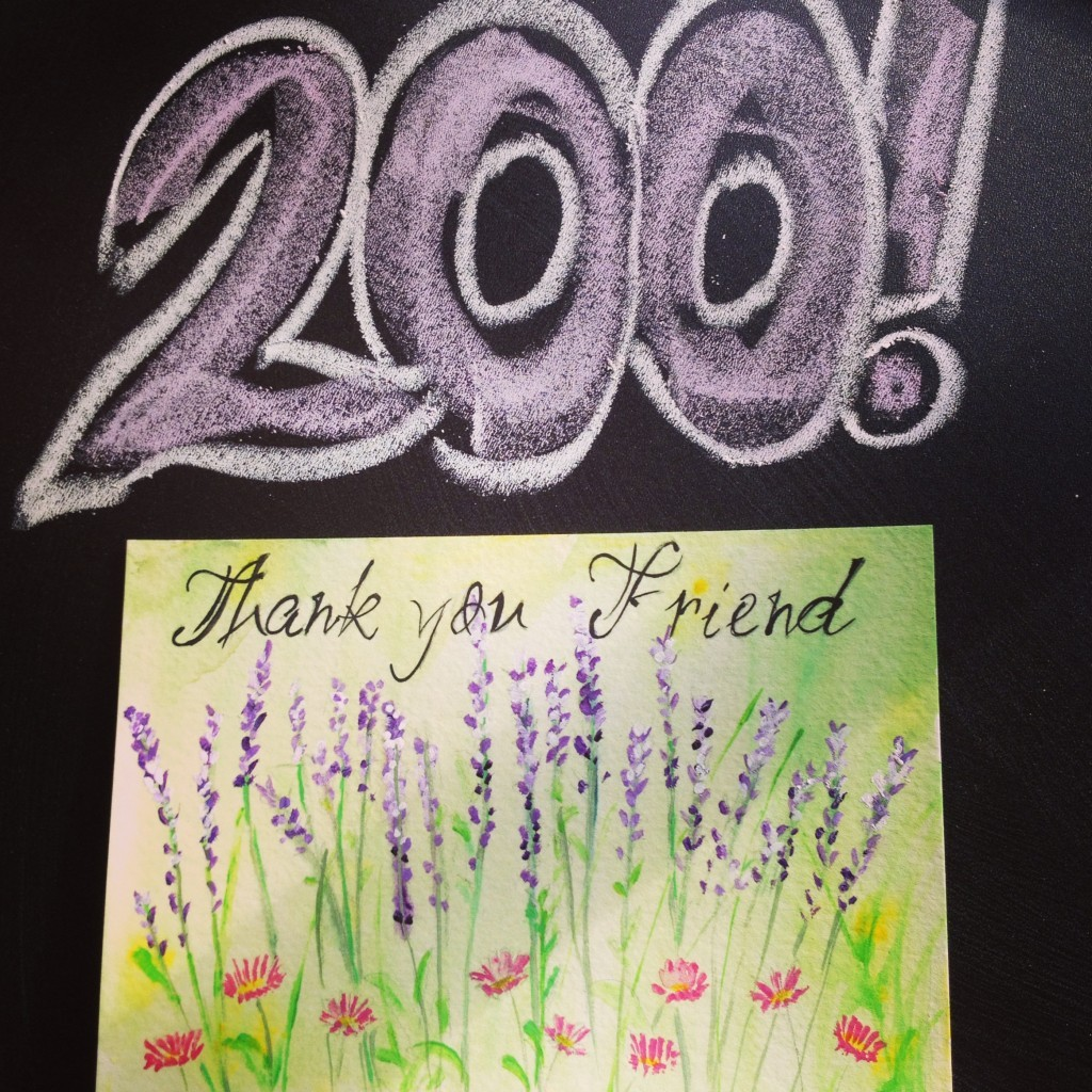 200 Friends on Facebook