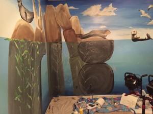 Ocean Mural by Julie Ann McKevitt | Atlanta Artist